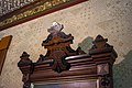 Foyer mirror - Lawnfield - Garfield House Historic Site (30593076355).jpg