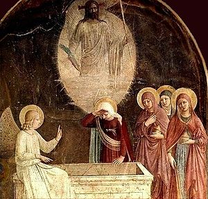 Artist: Fra Angelico Title: Resurrection of Ch...