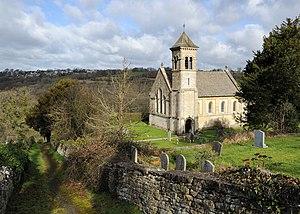 Frampton Mansell - St Luke's Church, Frampton Mansell