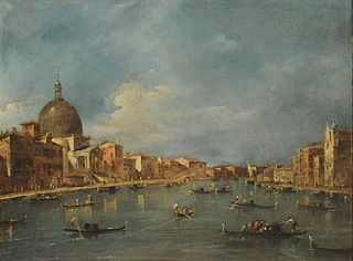 Gran Canal y San Simeone Piccolo