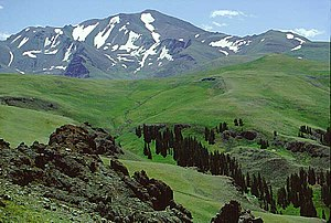 Francs Peak - Francs Peak from Haymaker Pass