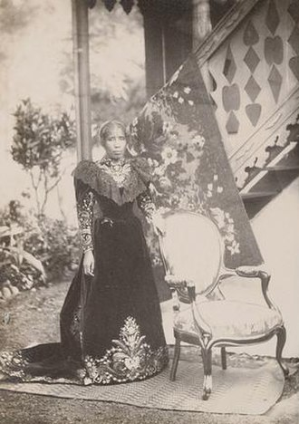 Ranavalona III - The queen in exile on Réunion
