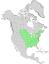 Fraxinus pennsylvanica range map 0.png