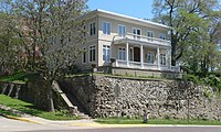Frederick Stein house (Atchison KS) from NW 1 long.JPG