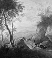 Frederik de Moucheron - Mountain Landscape with a Natural Gateway - KMSsp672 - Statens Museum for Kunst.jpg