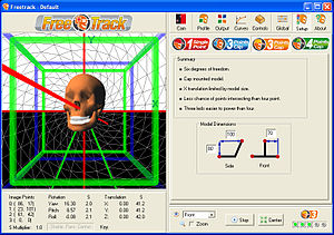 FreeTrack - Image: Freetrack 210 screenshot