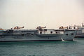 French SA-330 Puma helicopters on the French aircraft carrier FS Clemenceau (R-98) during Operation Desert Shield.JPEG