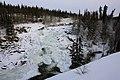 Frozen Cameron Falls - Yellowknife, Canada (5325139331).jpg