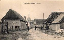 Fruncé Route de Villebon Eure-et-Loir (France).jpg