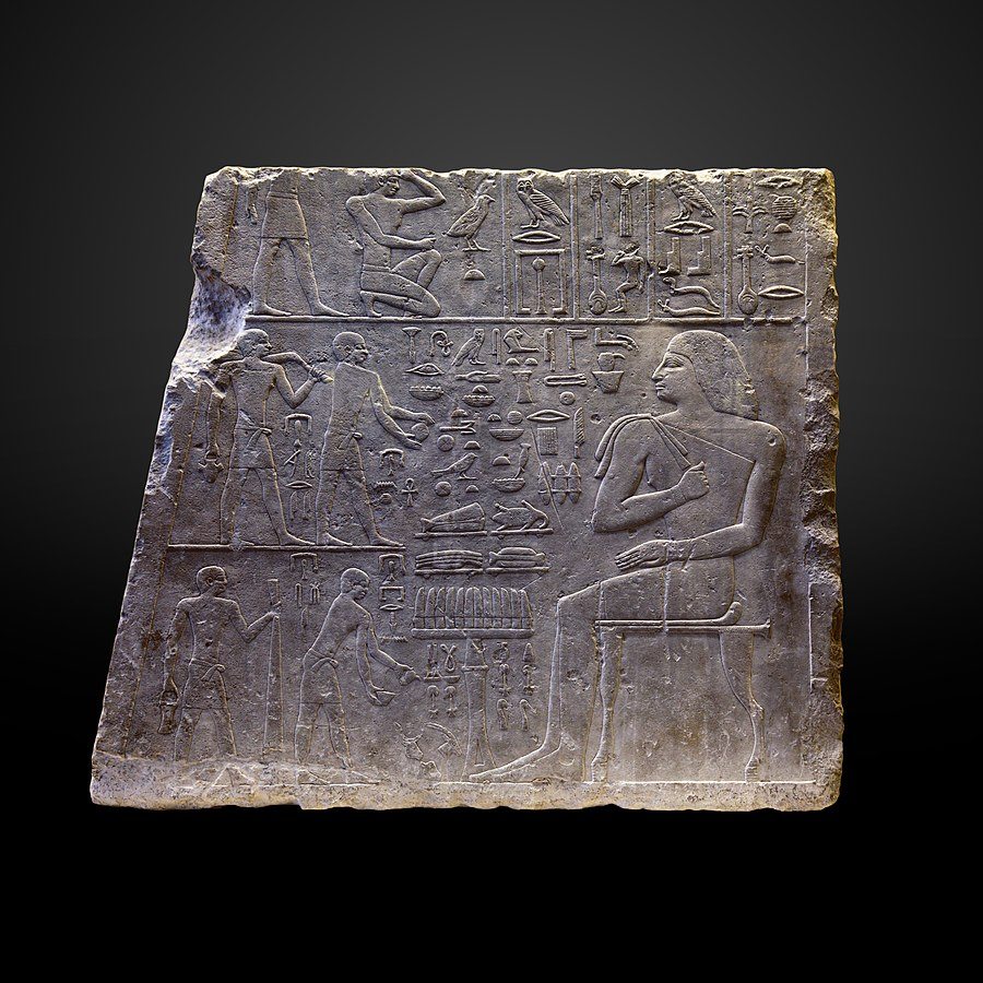 Funerary meal of chief treasurer Nefer-B 51