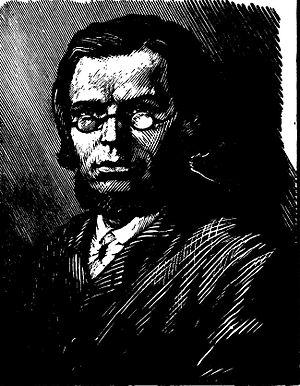 Fyodor Mikhaylovich Reshetnikov - A drawing of Reshetnikov.