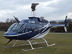 G-LONE Bell Jet Longranger Central Helicopters Ltd 206 Helicopter (25282290074).jpg