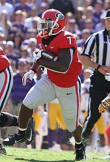 DAndre Swift American football running back