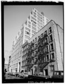 GENERAL VIEW OF FRONT AND SIDE - Albano Building, 305-311 East Forty-sixth Street, New York, New York County, NY HABS NY,31-NEYO,107-2.tif