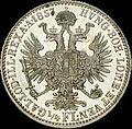 GOW 1per4 gulden 1857 A reverse.jpg