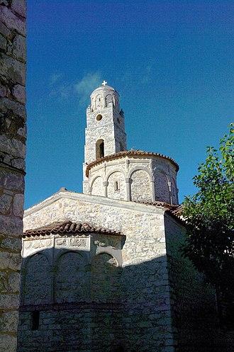 Areopoli - Agii Taxiarxes Church in Areopoli