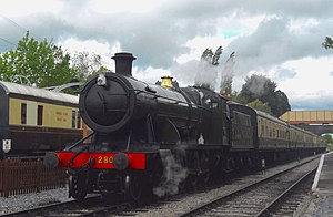 GWR 2-8-0 28xx Class No 2807 and train Toddington.jpg