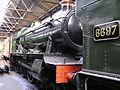 GWR 4-6-0 5900 'Hinderton Hall' (1931) & 0-6-2T 6697 (1928) GWS Didcot , January 2008 P1050044 (9940090406).jpg