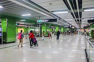 Huangcun station Guangzhou Metro station