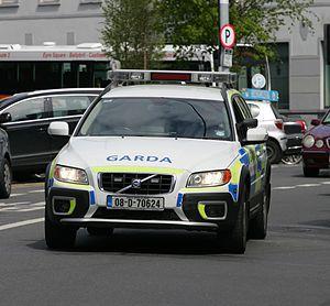 Garda Regional Support Unit - Garda armed Regional Support Unit (RSU) armed response vehicle