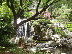 Chinese Garden of Friendship - Waterfalls in the Garden