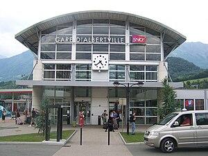 Gare d'Albertville - Albertville railway station