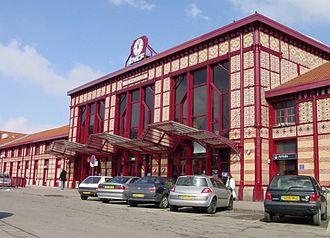 Saint-Étienne–Lyon railway - Saint-Étienne-Châteaucreux station