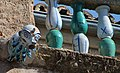 Gargouille sur le toit du musée hispano-arabe (8284517421).jpg