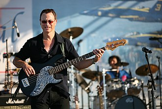 Gary Sinise - Sinise playing bass guitar in the Lt. Dan Band