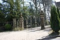 Gates to Shirenewton Hall, Shirenewton, Monmouthshire, Wales, UK.jpg