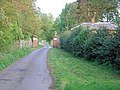 Gateway and drive to Packington Park - geograph.org.uk - 417553.jpg