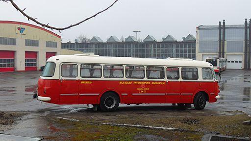 Gdańsk Wrzeszcz zajezdnia autobusowa (autobus ogórek)
