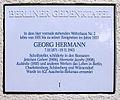Gedenktafel Kreuznacher Str 28 (Wilmd) Georg Herman.JPG