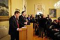 Geir H. Haarde statsminister Island haller pressmote om finanskrisen pa Island. Nordiska radets session i Helsingfors 2008-10-27.jpg