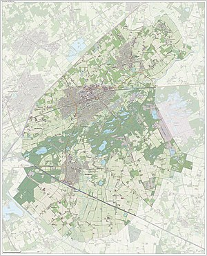 Oisterwijk - Image: Gem Oisterwijk Open Topo