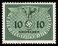 Generalgouvernement 1940 D3 Dienstmarke.jpg