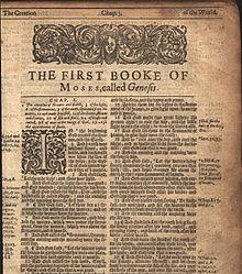 Genesis 1:1 - Wikipedia