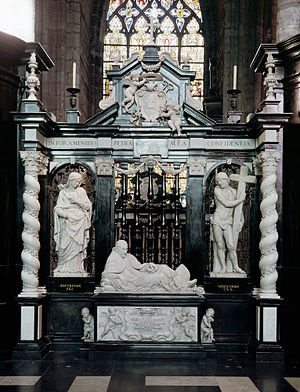 Jerôme Duquesnoy (II) - Tomb monument of Bishop Antonius Triest