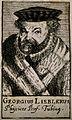 Georg Liebler. Line engraving, 1688. Wellcome V0003561.jpg