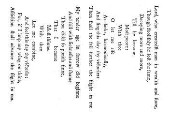 The Altar (Herbert poem)