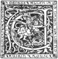 George Allen and Unwin Ltd Publisher Mark, 1915.png