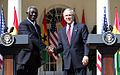 George Bush with John Kufuor at White House, 2008.jpg