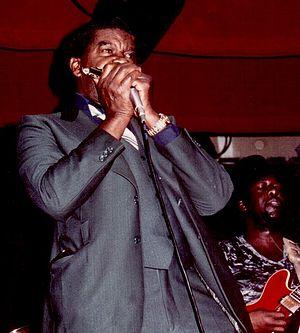 "George ""Harmonica"" Smith - George ""Harmonica"" Smith in 1980"