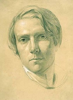 George richmond self portrait c1830 drawing
