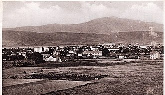 Gevgelija - Image: Gevgelija, panorama na razglednica, 1930ti
