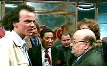 Gigi D'Alessio, Mario Trevi ed Aurelio Fierro nel 1998