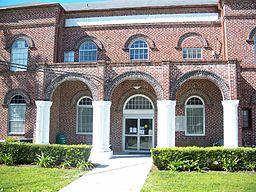 Gilchrist Countys domstolhus i Trenton.
