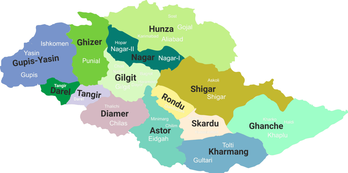 Image result for hunza map