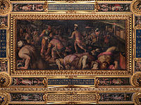 Giorgio Vasari - Defeat of Radagasio below Fiesole - Google Art Project.jpg