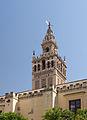 Giralda depuis patio des orangers Séville Espagne.jpg